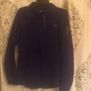 Size XL under armour fleece pullover